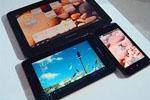 Обилие планшетных экранов