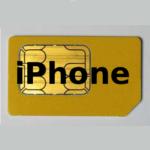 В iPhone будет встроенный SIM