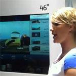 Прозрачный сенсорный экран от Samsung