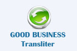 GOOD BUSINESS transliter