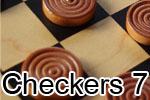 Checkers 7 шашки