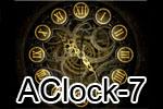 AClock-7 скринсейвер