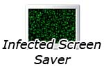Infected Screen Saver