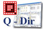 Q-Dir - бесплатный файловый менеджер для ОС Windows.